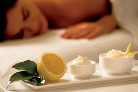 lemon zest scrub