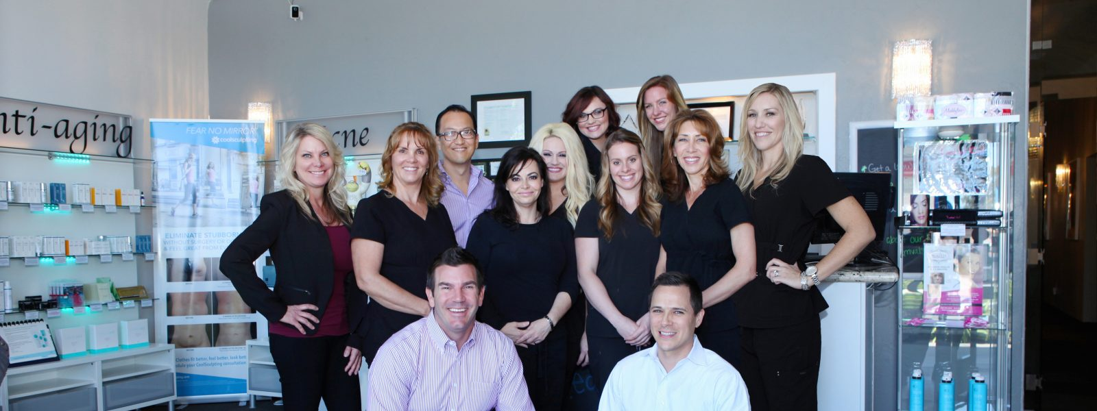 medspa team for coolsculpting, botox, laser hair removal, facials