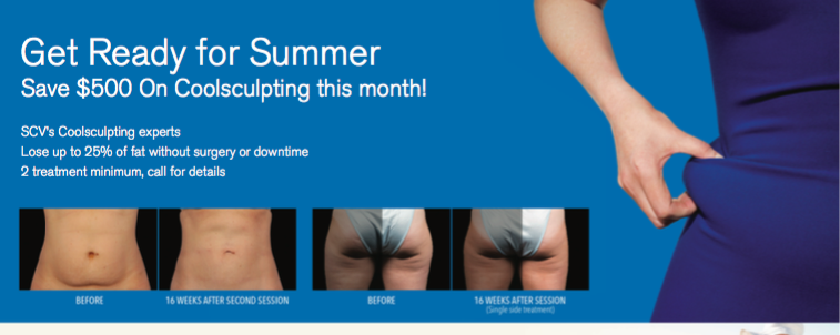 Infinity Med Spa May Coolsculpting Special